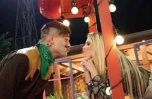 Bárbara Evans e Mateus Verdelho vivem romance em 'A Fazenda'. Confira!