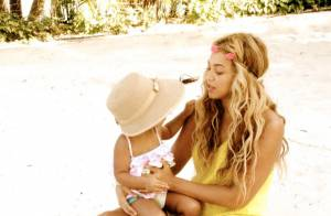 Beyoncé publica fotos de momentos de folga com a filha, Blue Ivy