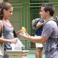 """Paloma Bernardi e Thiago Martins viveram Alice e Vinicius em """"Insensato Coração"""", de 2011"""
