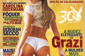 'Playboy' de Antonia Fontenelle entra no top 10 dos últimos 5 anos. Veja lista