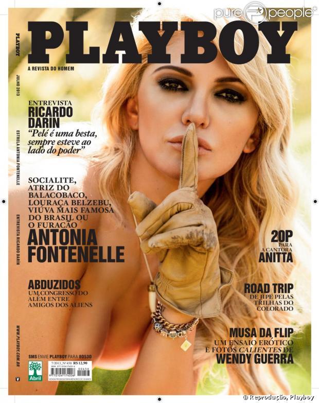 edição deste mêm, que traz Antonia Fontenelle na capa, já vendeu ...