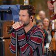 Adam Levine é vocalista da banda Maroon 5