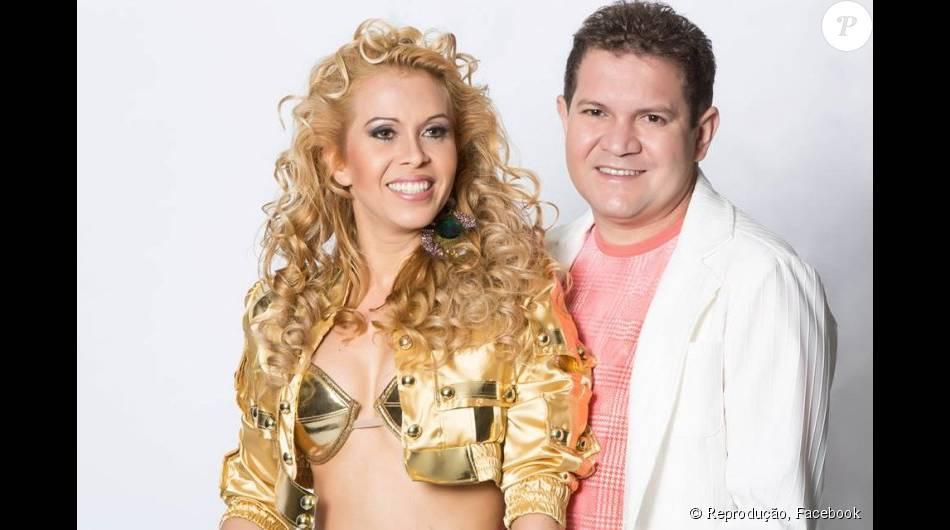 Joelma esteve em uma delegacia do Pará e afirmou que está se sentindo ameaçada por seu ex-marido, Chimbinha