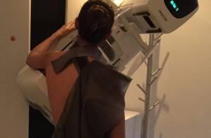 Camila Pitanga faz primeira mamografia e incentiva fãs: 'Vumbora, mulheres'