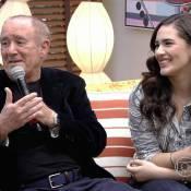 Livian Aragão sobre convivência com o pai, Renato Aragão: 'Muito sério em casa'
