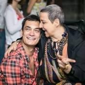 Betty Lago é homenageada pelo namorado, Clovys Torres: 'Levou pedaço de mim'