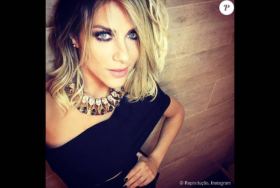 1c5f391ed64 Giovanna Ewbank usou vestido que não está à venda para antecipar as  comemorações do seu aniversário