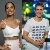 Camila Pitanga beija Igor Angelkorte durante festa de aniversário, diz jornal