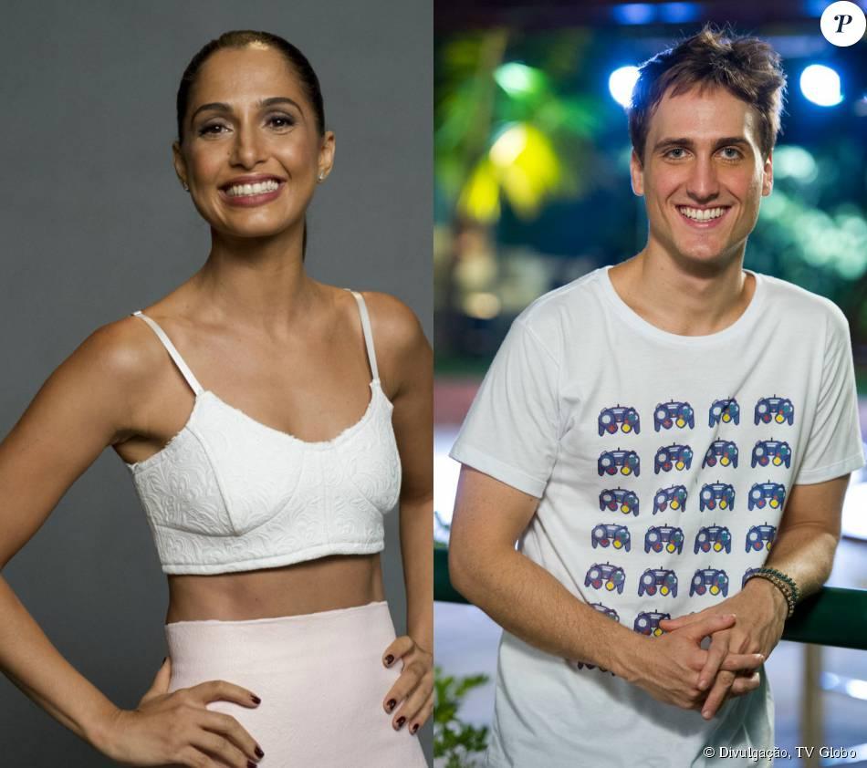 Camila Pitanga e Igor Angelkorte se beijaram na festa de aniversário de Leandra Leal, diz a coluna 'Retratos da Vida', do jornal 'Extra', desta terça-feira, 15 de setembro de 2015