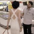Marcelo Serrado fazia um locutor de supermercado que dava mole para todas as mulheres que transitavam na sessão de açougue