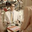 Marcio Garcia participou em 'Tapas & Beijos' como um corretor de imóveis que foi abandonado no altar e foi devolver o vestido alugado na loja de noivas de Sueli (Andréa Beltrão) e Fátima (Fernanda Torres)