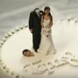 Mas ao final, a cabeça do noivo aflito sempre caía em cima do bolo