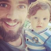 Rafael Cardoso já é reconhecido pela filha, Aurora: 'Está descobrindo tudo'