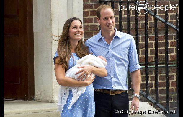 Kate Middleton deu à luz ao primogênito nesta segunda-feira (22)