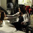 Paloma (Paolla Oliveira) diz a Mariah (Lúcia Veríssimo) que é sua filha, em 'Amor à Vida'