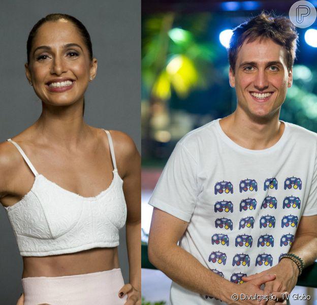 Camila Pitanga e Igor Angelkorte são vistos aos beijos novamente, diz jornal