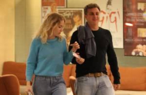 Luciano Huck e Angélica fazem programa de casal e curtem cinema no Rio