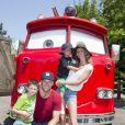 No início de julho, Tom Brady aproveitou suas férias para se divertir na Disney com seus filhos, John, de 5 anos, e Benjamin, de 3, fruto do casamento com Gisele Bündchen