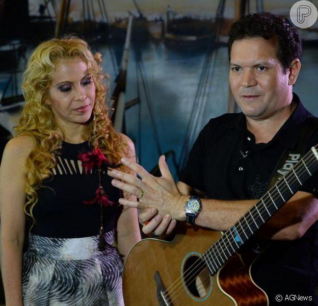 Chimbinha deixa palco após Joelma se recusar a dançar em show da Calypso
