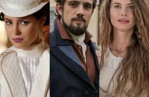 Novela 'Além do Tempo': Felipe abandona Melissa no altar e foge com Lívia