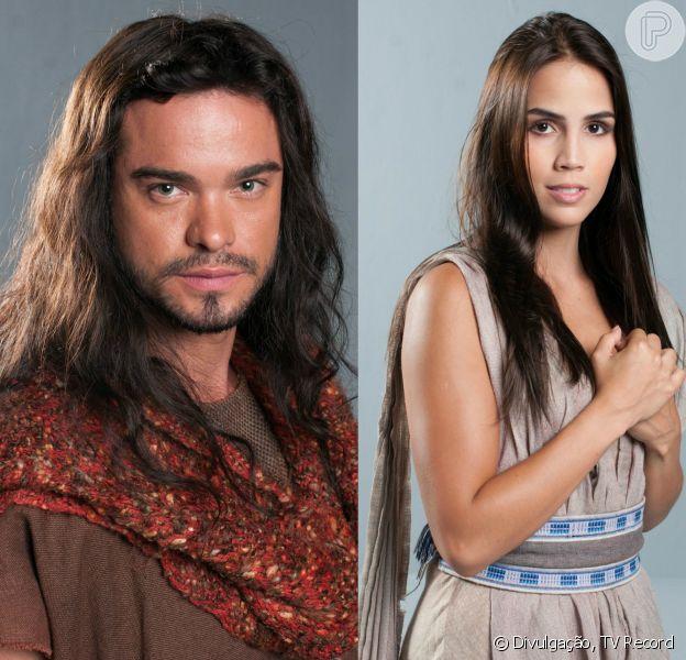 Sidney Sampaio e Pérola Faria, atualmente na novela 'Os Dez Mandamentos', também estarão no elenco de 'Josué e a Terra Prometida', que estreia em 2016 na Record