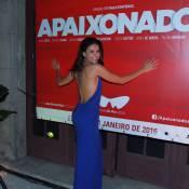 Paloma Bernardi se joga no samba em evento do Festival do Rio. Fotos!