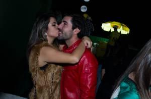Sandro Pedroso pausa peça para ficar perto de Jéssica Costa, grávida de 5 meses