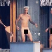 Justin Bieber é fotografado nu e internautas zombam: 'Inveja do Stênio Garcia'