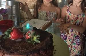 Giovanna Antonelli comemora aniversário de 5 anos das filhas: 'Presentinhos'