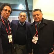 Após derrota do Brasil para o Chile, Galvão Bueno lamenta: 'Faltou futebol'
