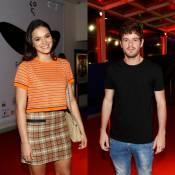 Bruna Marquezine e Maurício Destri se evitam no Festival do Rio após rompimento