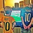 Noah e Guy, são frutos de relacionamentos antigos de Winits
