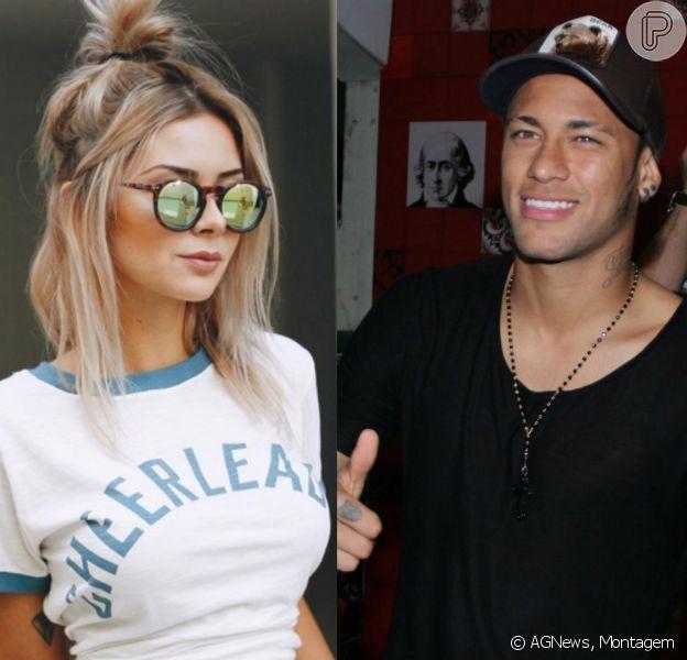 Rebecca Blanke esteve no hotel em que Neymar estava hospedado, no RJ, sábado, 11 de outubro de 2015