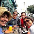 Emanuelle recentemente viajou para Europa para filmar o longa 'SOS Mulheres ao Mar'