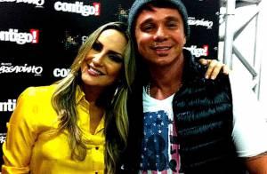 Netinho recebe visita de Claudia Leitte no hospital: 'Muito amor reunido'