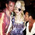 Madonna e seus convidados em sua festa de 55 anos com tema 'Maria Antonieta'