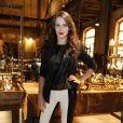 Bianca Bin apostou na calça branca para coletiva de imprensa de 'Joia Rara', próxima novela das seis da TV Globo