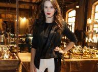 Bianca Bin e atrizes de 'Joia Rara' apostam em calça branca para coletiva