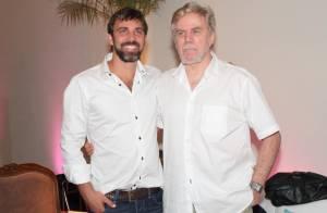 Marcelo Faria fala sobre internação do pai, Reginaldo Faria: 'Está sob cuidados'