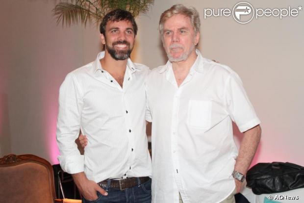 Através do seu perfil no Facebook, Marcelo Faria falou sobre a internação do pai, Reginaldo Faria e se declarou: 'Melhor pai do mundo'