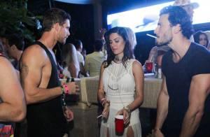 Thaila Ayala e namorado francês dançam até 6h da manhã durante festa em Trancoso
