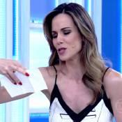 Fernanda Souza manda flores e bilhete para Ana Furtado após chute: 'Fique bem'
