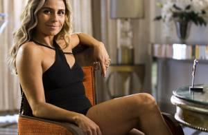 Giovanna Antonelli aprende a usar novos looks com Atena: 'Revisitar o armário'
