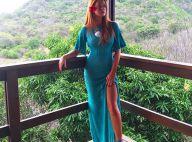 Marina Ruy Barbosa chega a Noronha para o Réveillon: 'Mini férias'