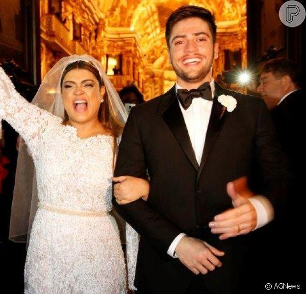 Preta Gil e Rodrigo Godoy planejam novo casamento em 2016
