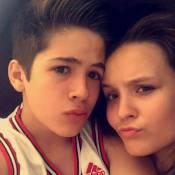 Larissa Manoela almoça com namorado, João Guilherme, e posta foto. Veja!