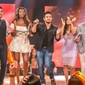 Luan Santana, Anitta e Ludmilla homenageiam Cristiano Araújo no 'Caldeirão'