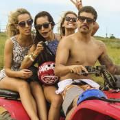 Separados, Caio Castro passa Réveillon na Bahia e Maria Casadevall, em Ilhabela