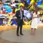 Evaristo Costa apresenta o 'Fantástico' e agrada internautas: 'Fofura da noite'