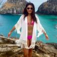 Paloma Bernardi exibe boa forma de biquíni em foto postada no Instagram
